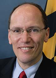 [photo, Thomas E. Perez, Maryland Secretary of Labor, Licensing, & Regulation]