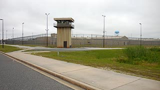 [photo, Eastern Correctional Institution, 30420 Revells Neck Road, Westover, Maryland]