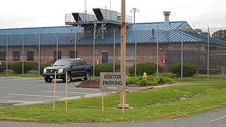 [photo, Minimum Security Compound, Eastern Correctional Institution Annex, 30430 Revells Neck Road, Westover, Maryland]