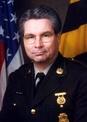 [photo, David B. Mitchell, Maryland Secretary of State Police]