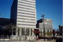 [photo, G. H. Fallon Federal Building, 31 Hopkins Plaza, Baltimore, Maryland]