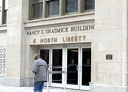 [photo, Nancy S. Grasmick Building, 6 North Liberty St., Baltimore, Maryland]