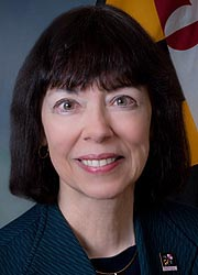 [photo, Jennie C. Hunter-Cevera, Maryland Acting Secretary of Higher Education]