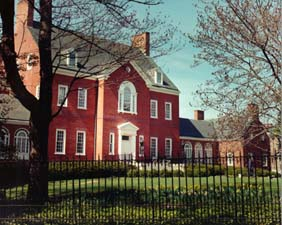 [color photograph, Government House< Annapolis< Maryland]