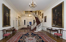 [photo, Entrance Hall, Government House, Annapolis, Maryland]
