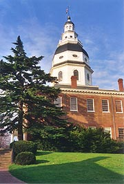 [photo, State House, Annapolis, Maryland]