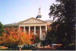 [photo, State House (from College Ave.), Annapolis, Maryland]