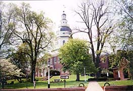 [photo, State House (from East St.), Annapolis, Maryland]