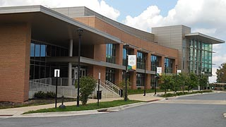 [photo, J. Alexander Wiseman Student Center, Bowie State University, Bowie, Maryland]