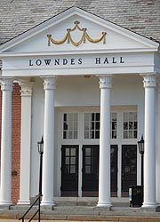 [photo, Lowndes Hall, Frostburg State University, Frostburg, Maryland]