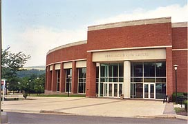 [photo, Performing Arts Center, Frostburg State University, Frostburg, Maryland]