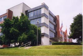 [photo, Administration Building, Towson University, 7720 York Road, Towson, Maryland]