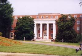 [photo, John S. Toll Physics Building, University of Maryland, College Park, Maryland]