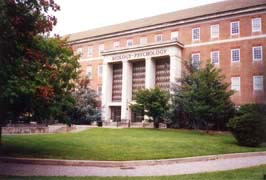 [photo, Biology-Psychology Building, University of Maryland, College Park, Maryland]