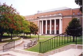 [photo, College of Information Studies, Hornbake Library, University of Maryland, College Park, Maryland]