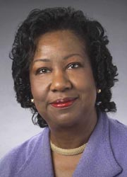 [photo, Thelma B. Thompson, President, University of Maryland Eastern Shore]