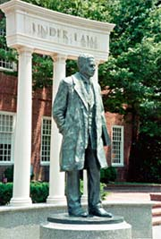 [photo, Thurgood Marshall Memorial Statue, Lawyers' Mall, College Ave. and Rowe Blvd., Annapolis, Maryland]