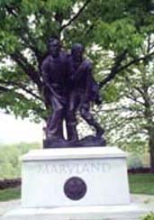 [photo, Maryland Monument, Gettysburg Battlefield, Gettysburg, Pennsylvania]