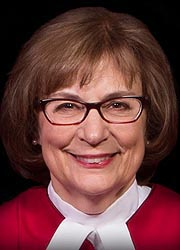 [photo, Mary Ellen Barbera, Chief Judge, Maryland Court of Appeals]