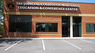 [photo, Education and Conference Center, Judicial College of Maryland, 2009 Commerce Park Drive, Annapolis, Maryland]