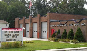 [photo, Herald Harbor Volunteer Fire Department, Crownsville, Maryland]