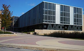 [photo, Student Services Center, Anne Arundel Community College, Arnold, Maryland]