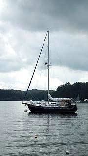 [photo, Sailboat, Little Round Bay, Crownsville, Maryland]