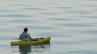 [photo, Fishing at Little Round Bay, Crownsville (Anne Arundel County), Maryland]