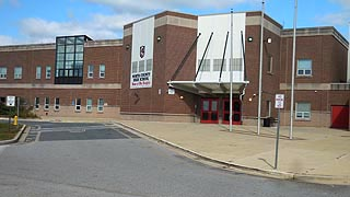 [photo, North County High School, 10 East 1st Ave., Glen Burnie, MD]