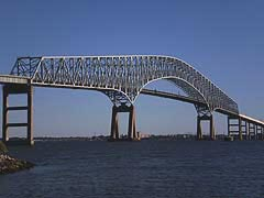 [photo, Key Bridge over Patapsco River, Baltimore, Maryland]