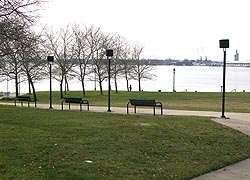 [photo, Canton Waterfront Park, Baltimore, Maryland]