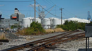 [photo, Oil tanks, Locust Point, Baltimore, Maryland]