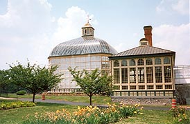 [photo, Howard P. Rawlings Conservatory & Botanic Gardens, Druid Hill Park, 3100 Swan Drive, Baltimore, Maryland]