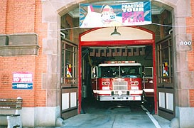 [photo, Fire Station, 800 Light St., Baltimore, Maryland]