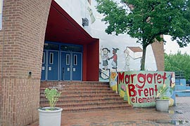 [photo, Margaret Brent Elementary School, 100 East 26th St., Baltimore, Maryland]