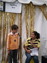 [photo, Spelling Bee, Baltimore Book Festival, Mount Vernon Place, Baltimore, Maryland]