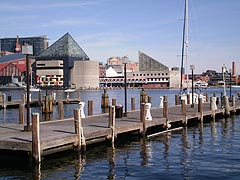 [photo, At head of Patapsco River lies Inner Harbor, Baltimore, Maryland]