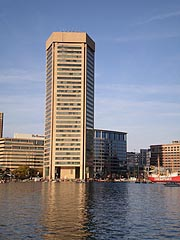 [photo, World Trade Center Baltimore, at Inner Harbor, 401 East Pratt St, Baltimore, Maryland]