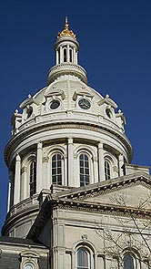 [photo, City Hall dome, 100 North Holliday St., Baltimore, Maryland]