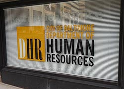 [photo, Dept. of Human Resources, 201 East Baltimore St., Baltimore, Maryland]