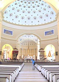 [photo, Interior, Basilica of the National Shrine of the Assumption of the Blessed Virgin Mary, 409 Cathedral St., Baltimore, Maryland]