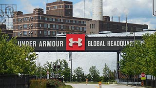 [photo, Under Armour Global Headquarters, 1020 Hull St., Baltimore, Maryland]