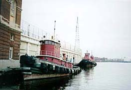 [photo, Tugboats, Fell's Point, Baltimore, Maryland]