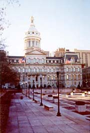 [photo, City Hall, 100 North Holliday St., Baltimore, Maryland]