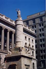 [photo, Battle of North Point Monument by Italian sculptor Antonio Capellano, Calvert St. and Fayette St., Baltimore, Maryland]