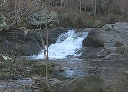[photo, Waterfall on Long Green Creek, Baltimore County, Maryland]