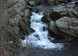 [photo, Waterfall on Long Green Creek, Glen Arm, Baltimore County, Maryland]