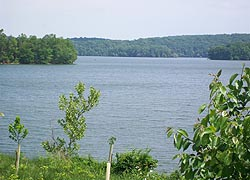 [photo, Loch Raven Reservoir, Baltimore County, Maryland]