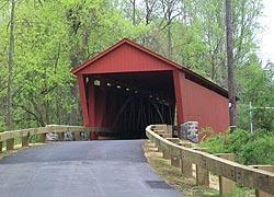 [photo, Jericho Covered Bridge, Baltimore & Harford Counties, Maryland]