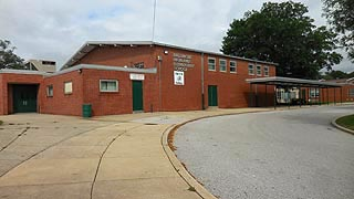 [photo, Baltimore Highlands Elementary School, 4200 Annapolis Road, Halethorpe, Maryland]